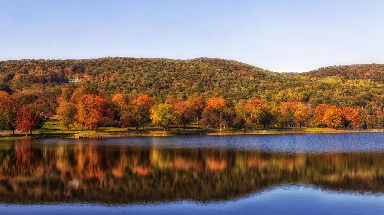Squantz Pond | © tpsdave/Pixabay