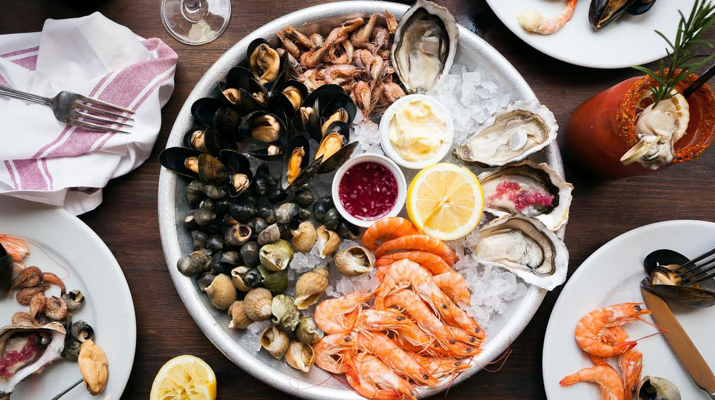 Seafood platter | Courtesy of Wright Brothers