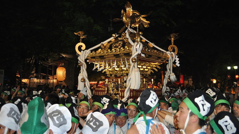 Festival at Okunitama Shrine | © 江戸村のとくぞう/WikiCommons