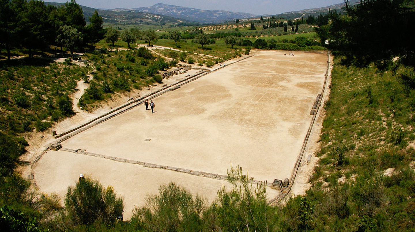The stadion of ancient Nemea, Greece. | © commons.wikimedia.org