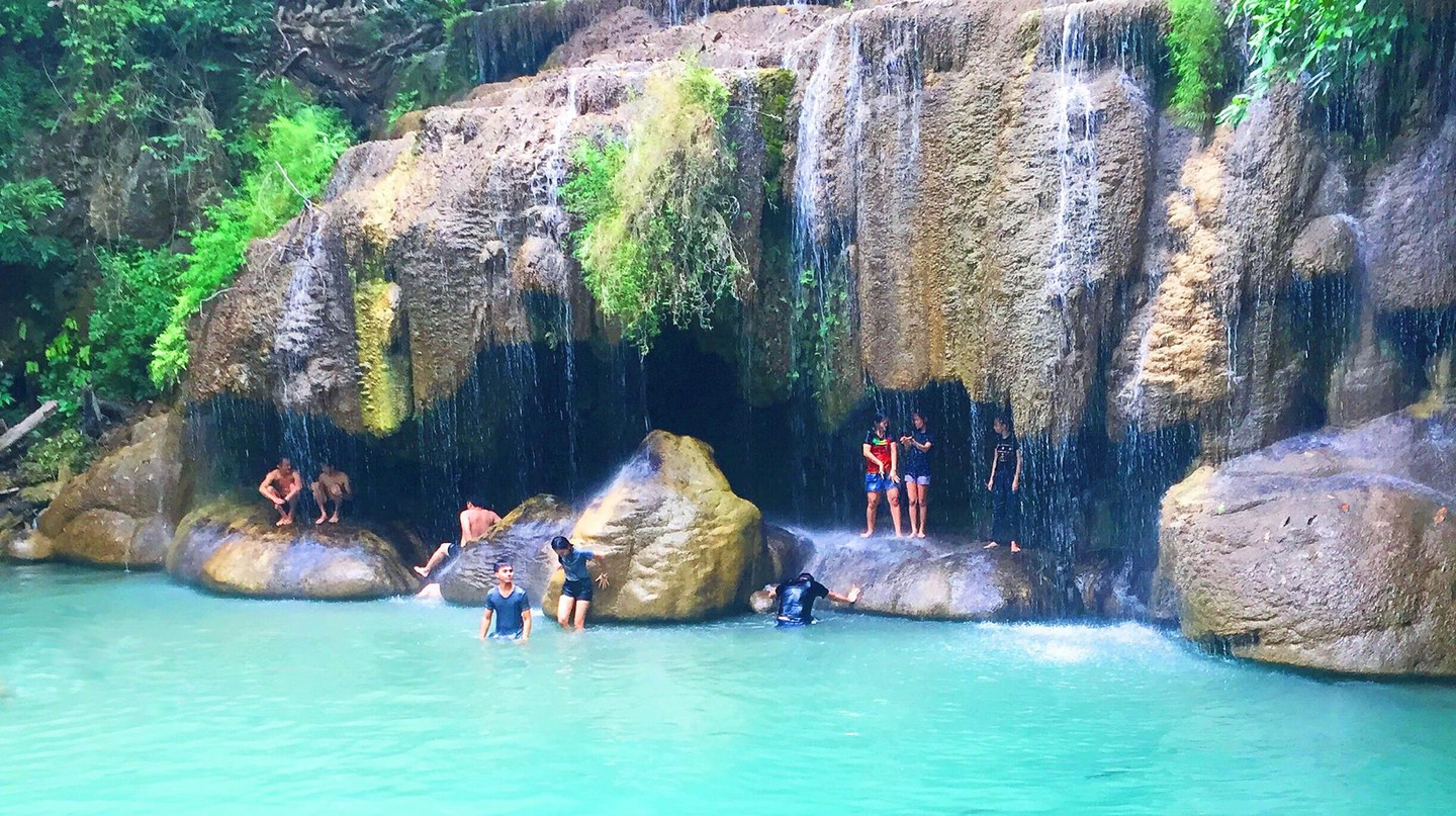 Erawan National Park/Courtesy of Kelsey Madison
