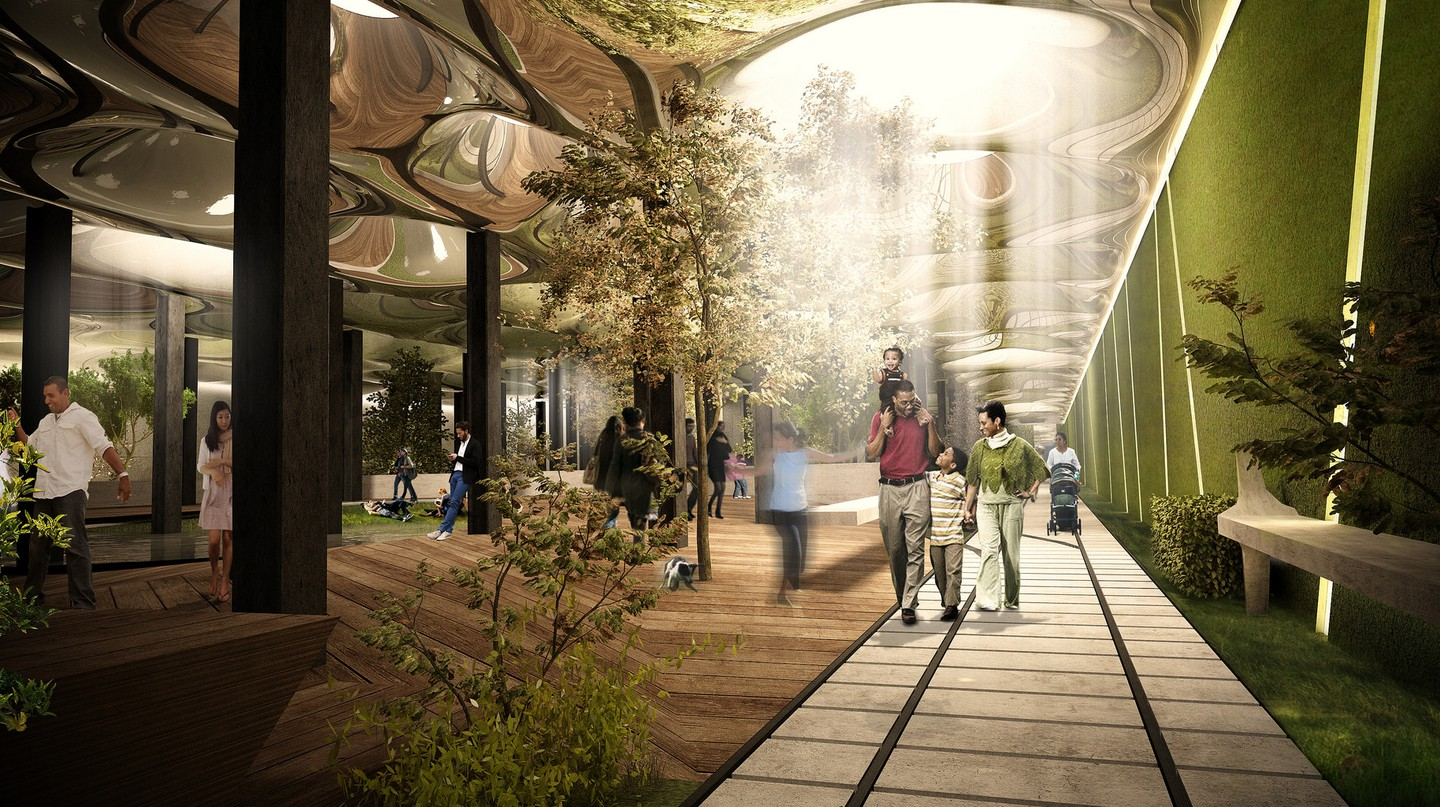 The Lowline Rendering | © The Lowline