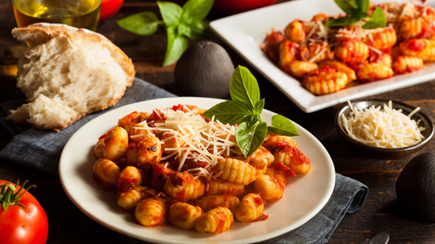 Homemade Italian Gnocchi with Red Sauce and Cheese | Brent Hofacker/Flickr