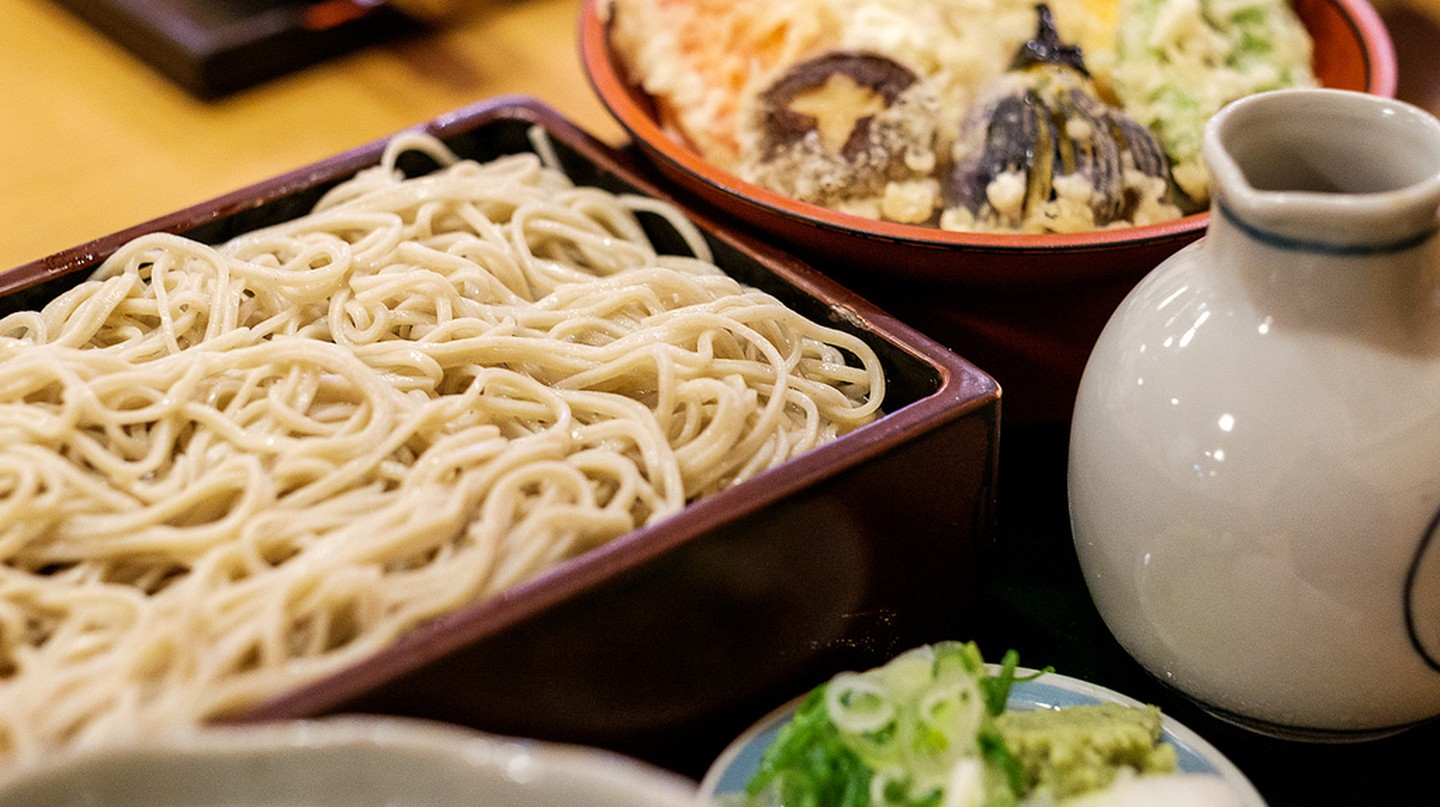 Soba set meal | © Matthew Hine/Flickr