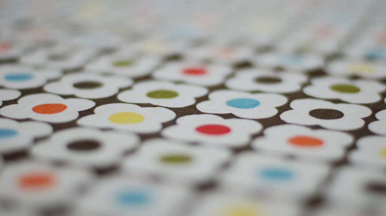 An Orla Kiely tablecloth | © Nick Nguyen/Flickr