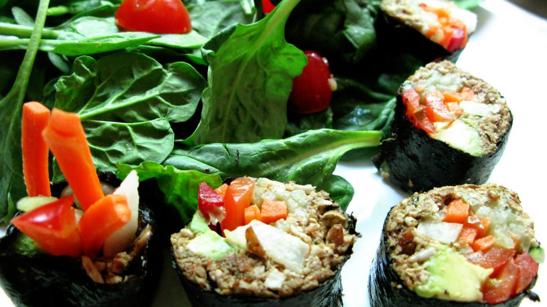 Vegan sushi   ©  Kari Sullivan/Flickr