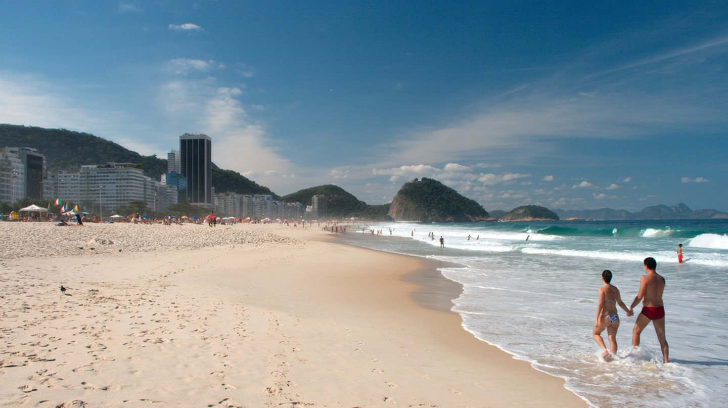 Copacabana beach |© Christain Haugen/WikiCommons