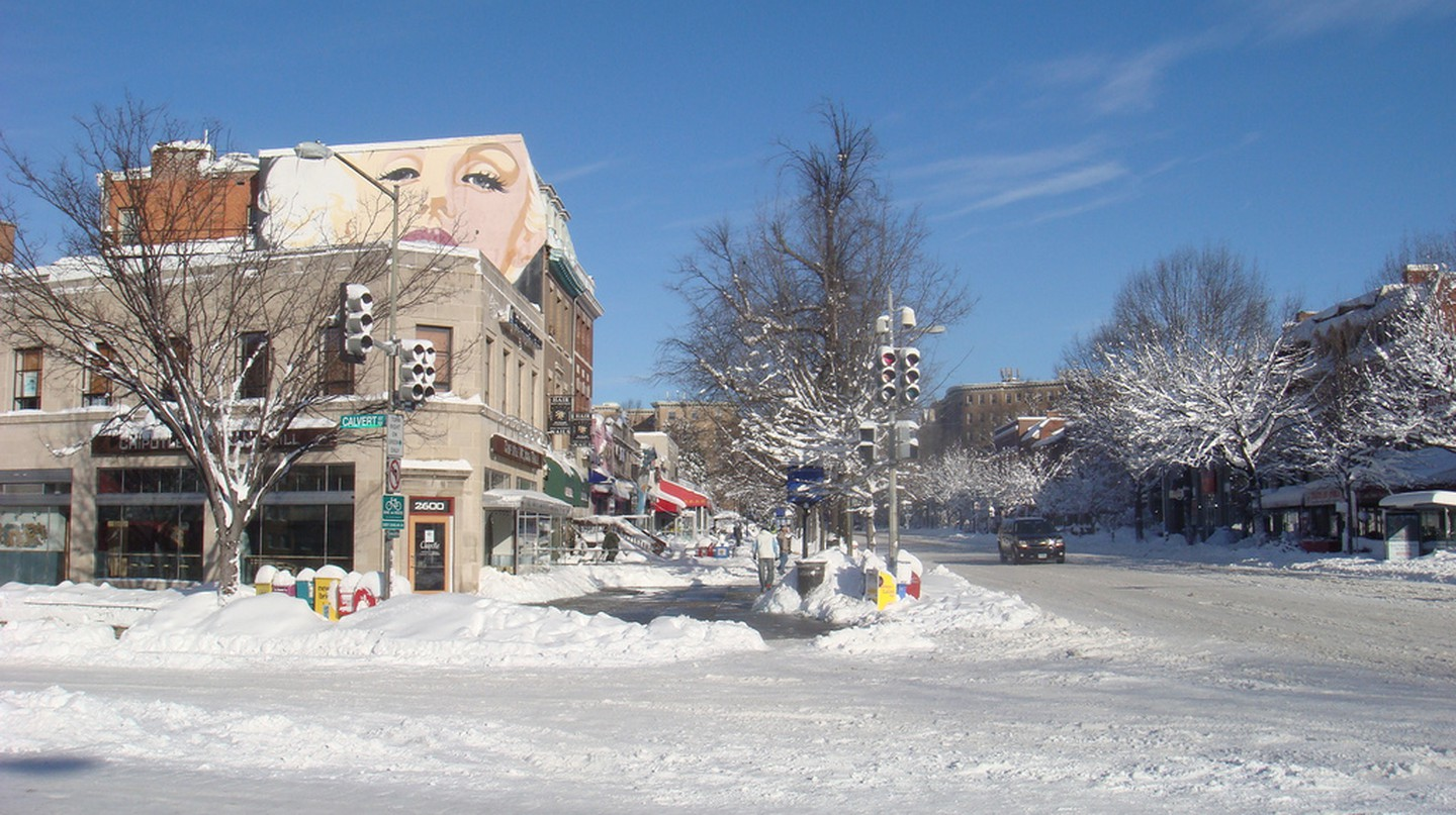 Woodley Park During Winter | © James Diggans/Flickr