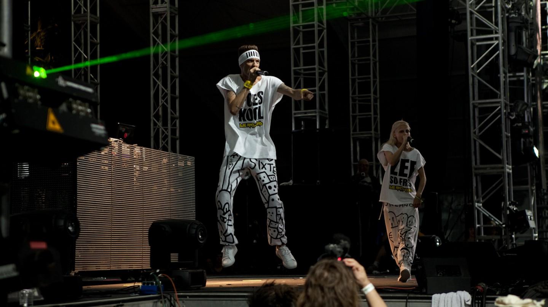 Die Antwoord perform at Coachella 2010 © Jared Eberhardt/Flickr