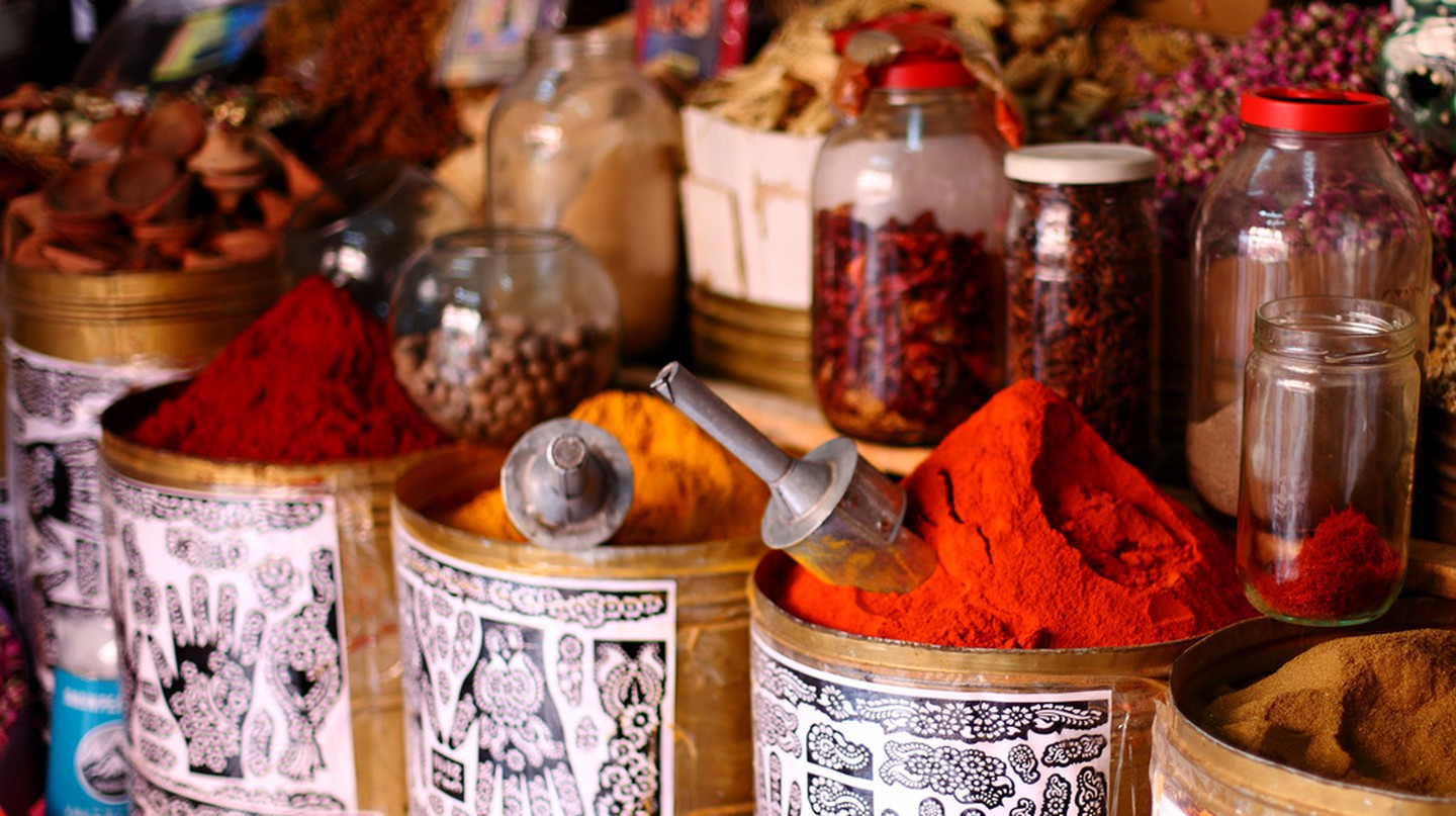 Ras El Hanout Spices Marrakech © Mark Rowland