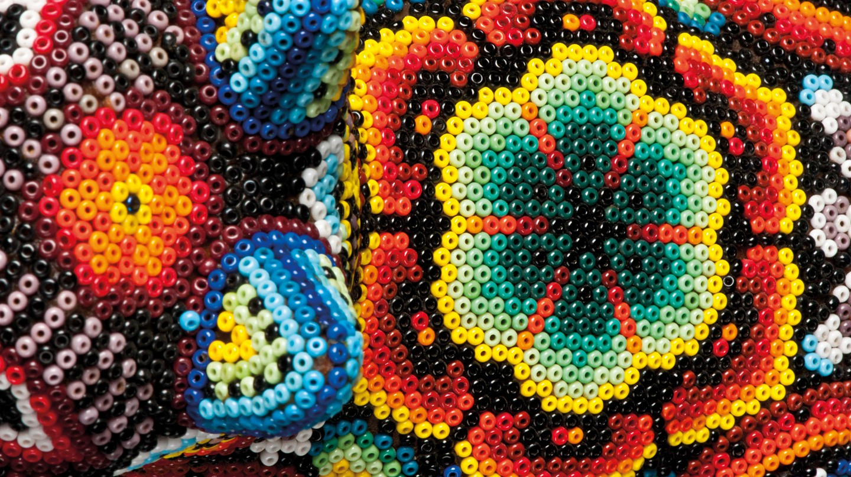 Huichol Beading (cropped)   © PRECIOSA ORNELA/Flickr