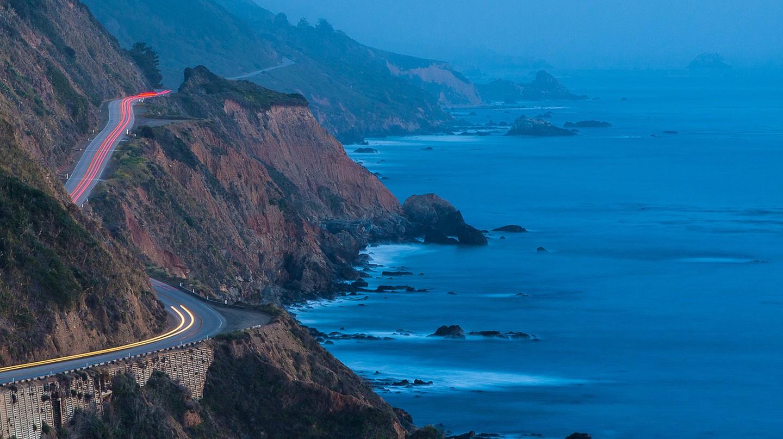 Blue Hour, California Highway 1, Big Sur | © Vadim Kurland/Flickr