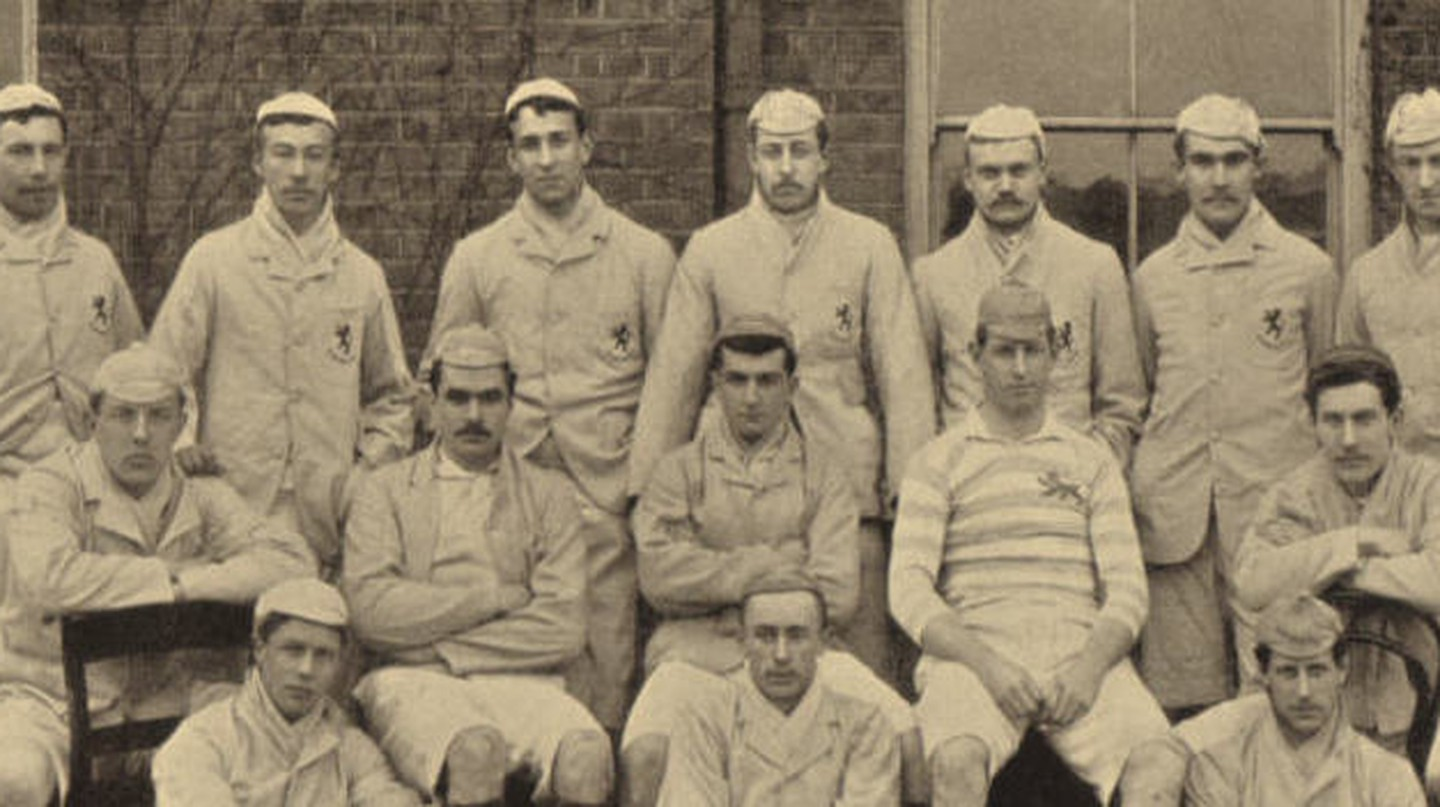 Cambridge University RFC XV in 1890 | © en.wikipedia.org