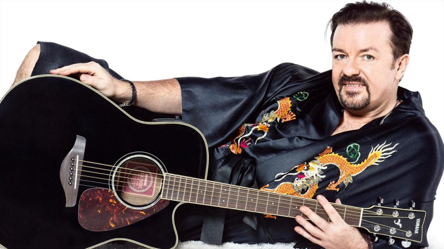 Ricky Gervais is back as David Brent in Life On The Road | © Entertainment One