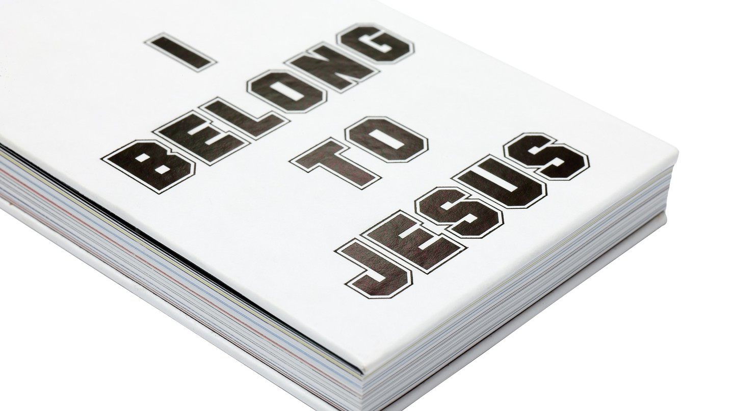 I Belong to Jesus elegantly presented | Courtesy of Craig Oldham