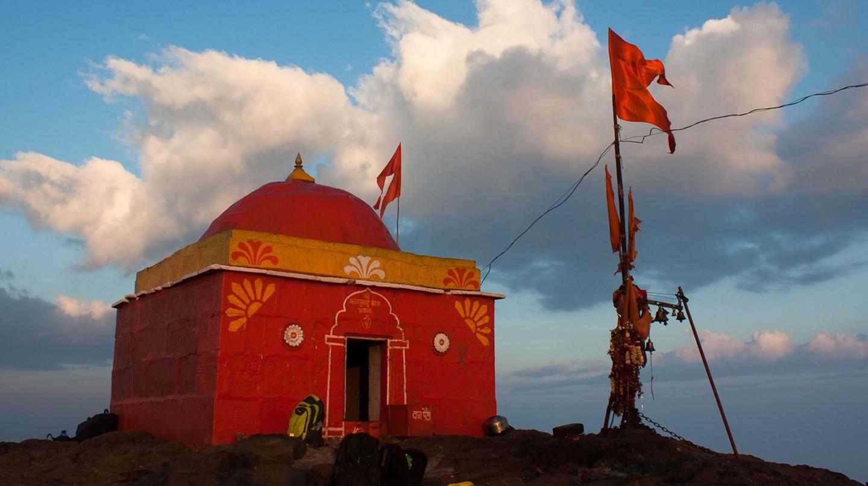 Temple on Kalsubai Peak   © Elroy Serrao/Flickr