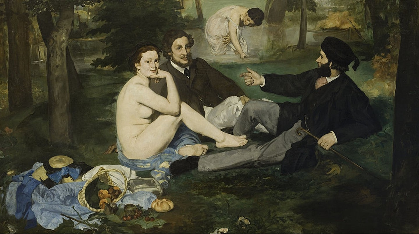 Luncheon on the Grass by Édouard Manet © WikiCommons
