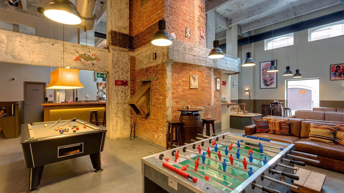 Budget-conscious travel becomes an unexpected pleasure when discovering Belgium's coolest urban hostels | Courtesy of Meininger Hotel Brussels City Center
