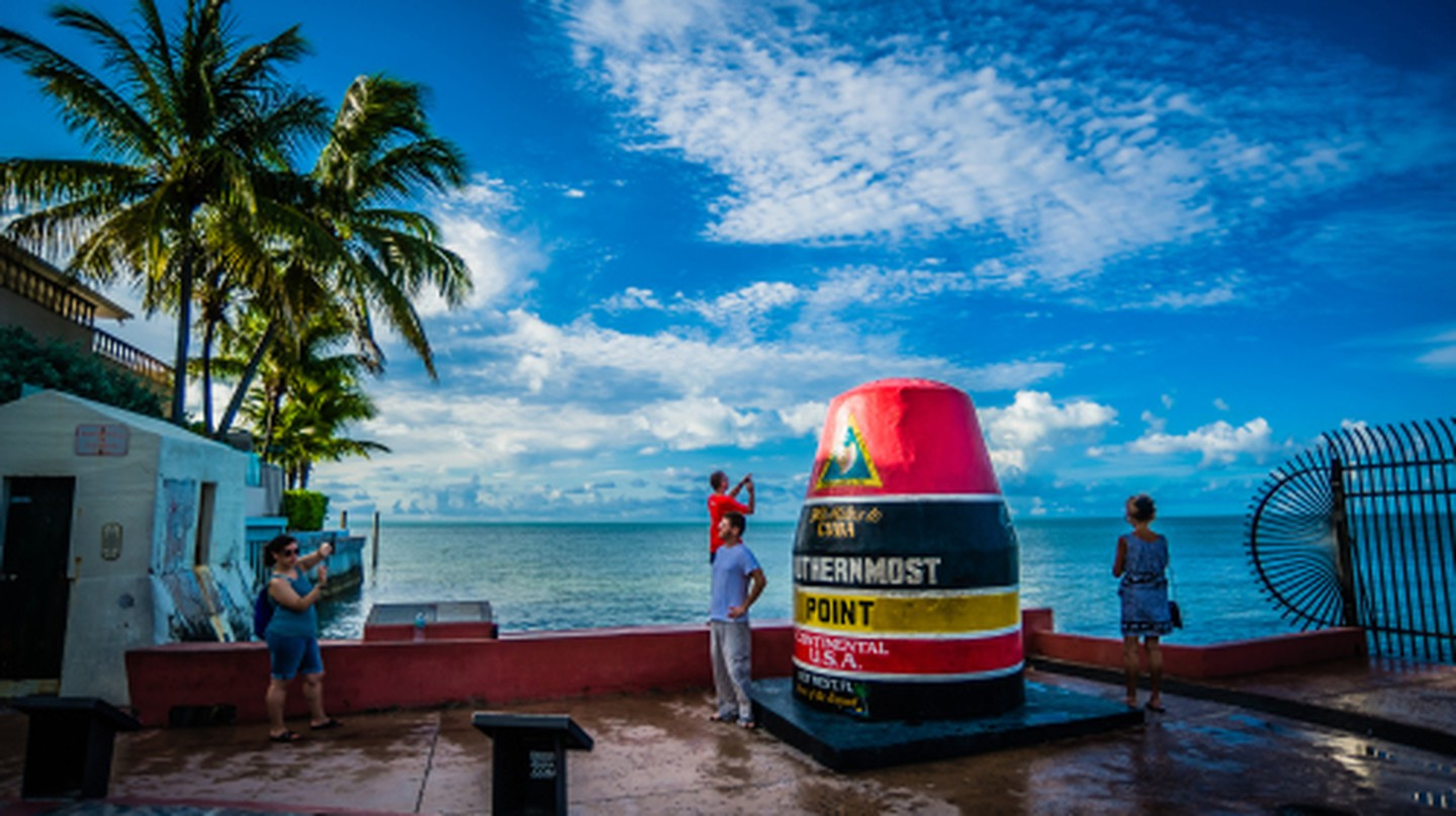 Southern Most Point, Key West, USA |Wikipedia Commons