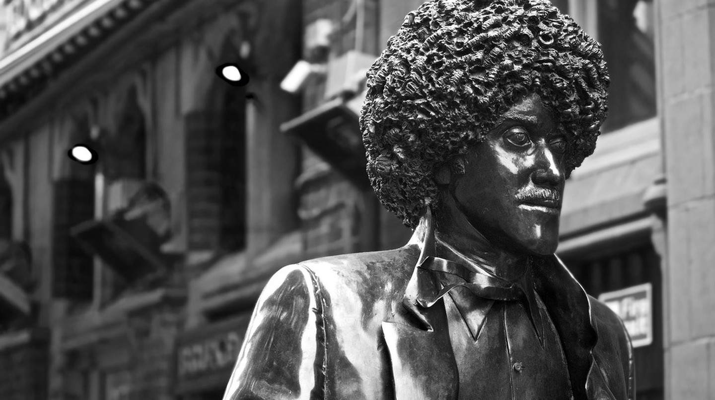 Phil Lynott Statue, Dublin | ©Tristan Reville/Flickr