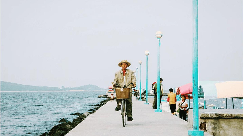 A post from Siegfried Chu's instagram account, taken in Wonsan, Kangwon-Do, North Korea