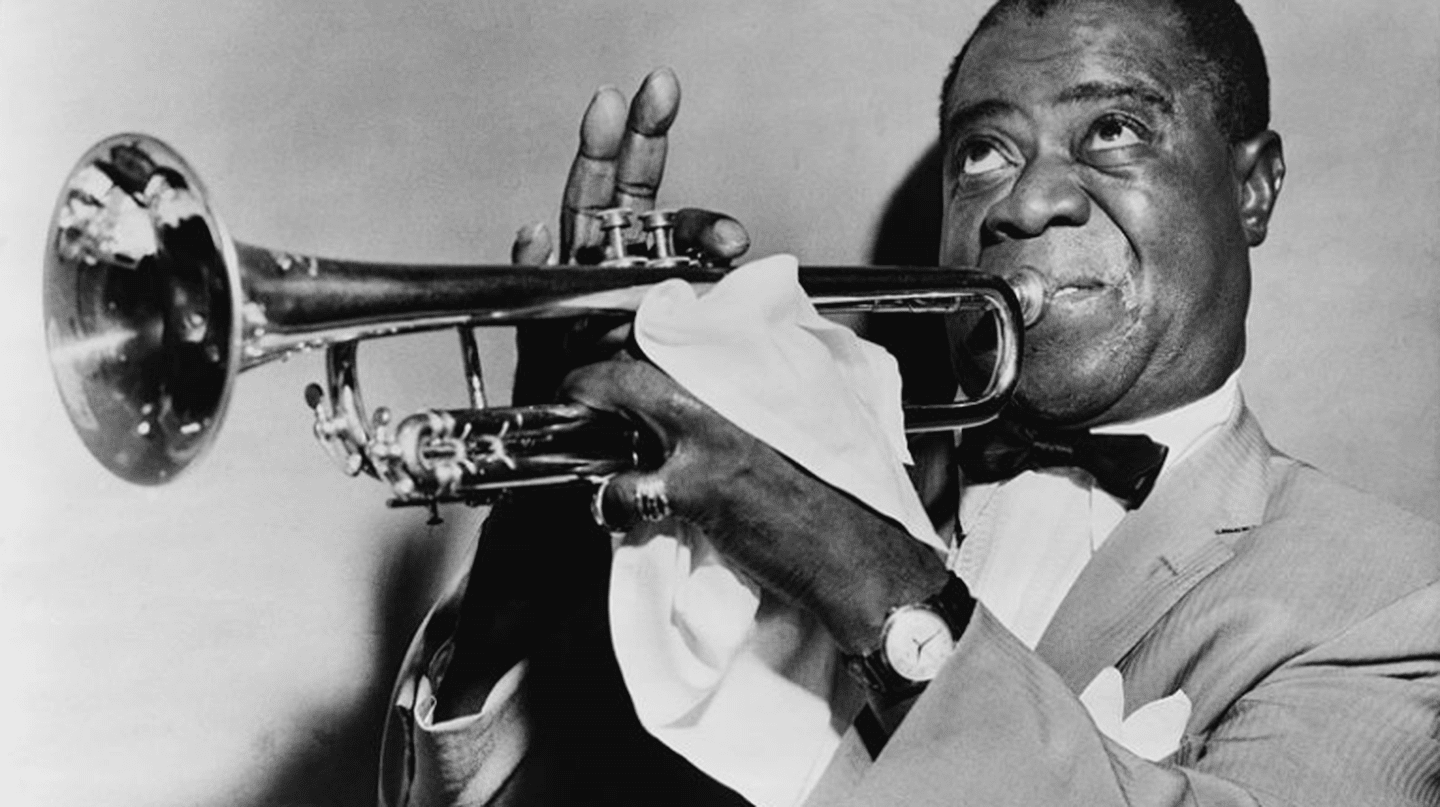 Louis Armstrong restored | Public Domain/Wikicommons