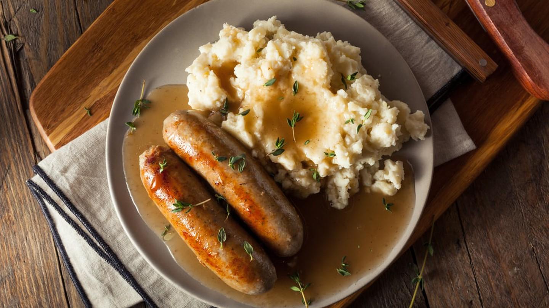 Sausage and mash