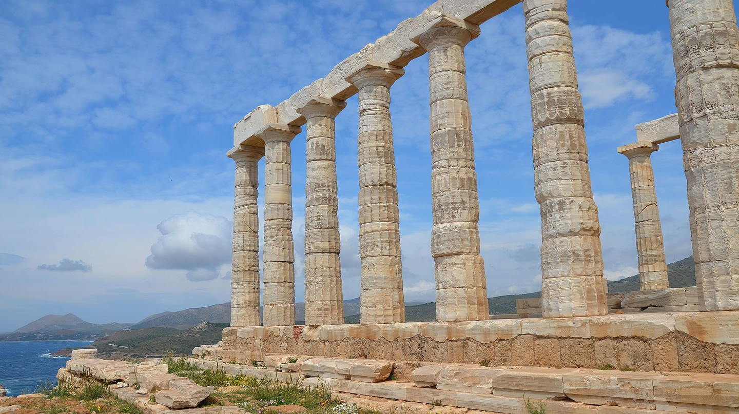 Temple of Poseidon, Cape Sounion, Greece © Carole Raddato /WikiCommons