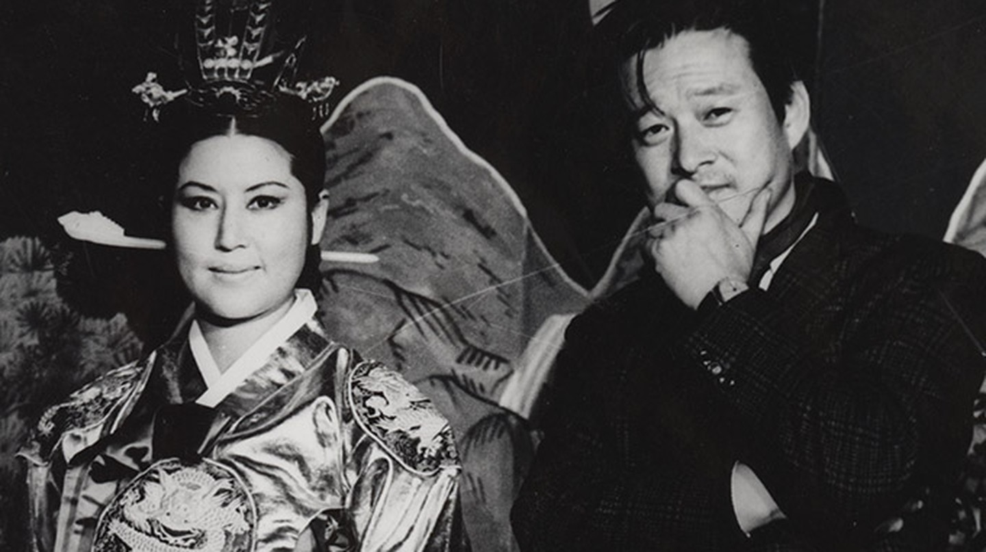 Actress Choi Eun-hee and director Shin Sang-ok in the 1950s. | © Courtesy of Magnolia Pictures