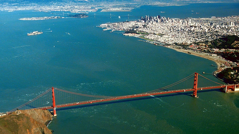 San Francisco Bay © Robert Campbell/Wikipedia