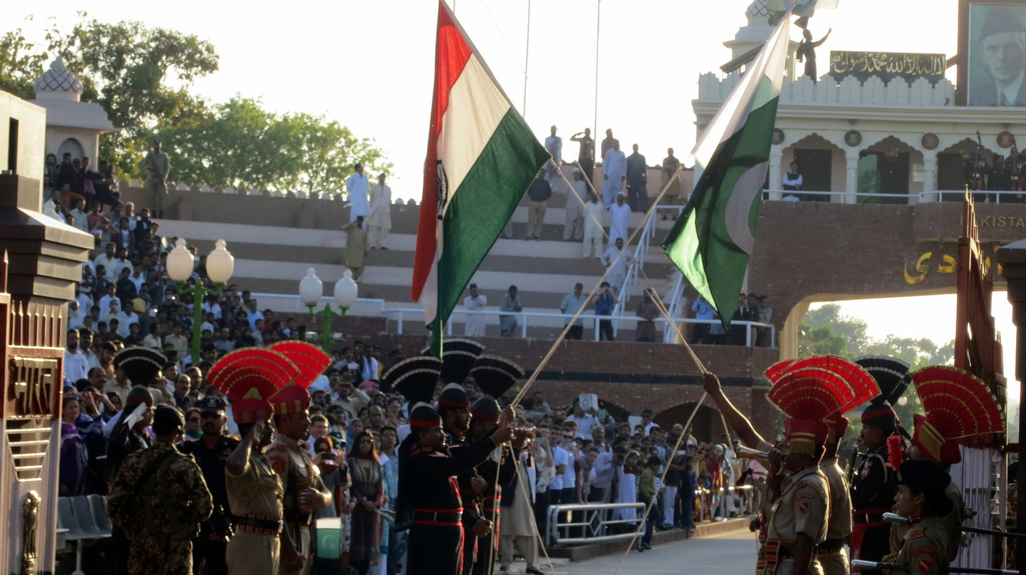 Wagah Border: The Guard Ceremony