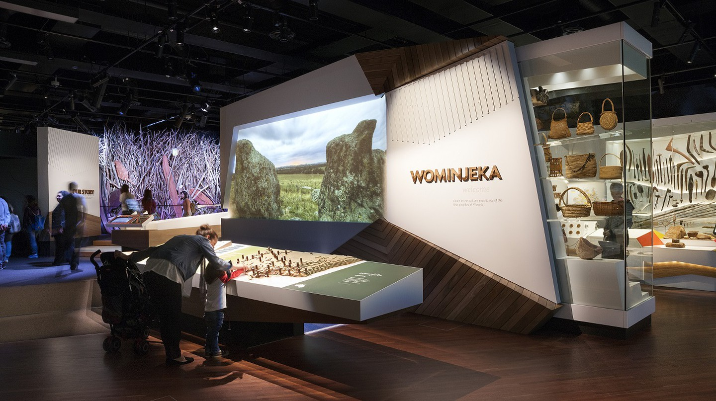 Entry to First Peoples exhibition at Bunjilaka, Melbourne Museum | Courtesy of Melbourne Museum