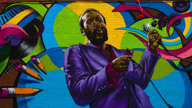 Marvin Gaye Mural On DC's U Street | © Johnny Silvercloud/Flickr