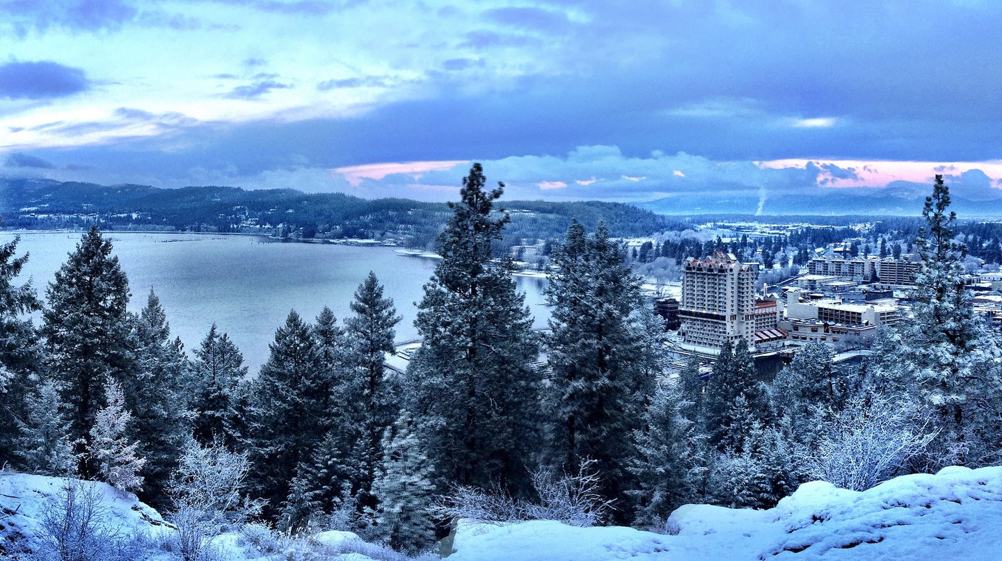 Tubbs Hill - Coeur d Alene winter | © D.Taylor in Idaho/Flickr