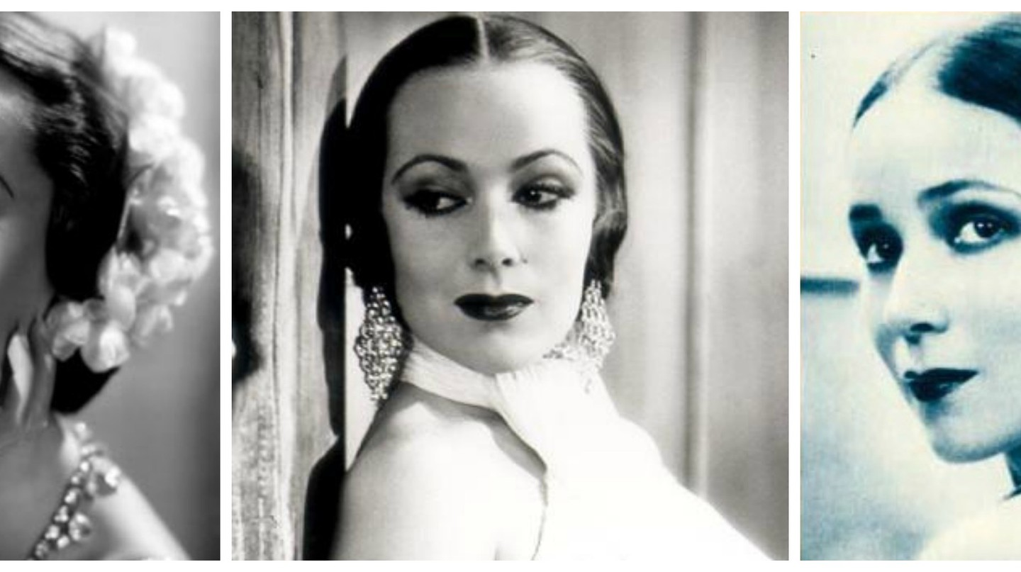 Dolores del Río | © RKO Pictures Public Domain/WikiCommons / Warner Brothers Studio Publicity/WikiCommons / Photoplay Magazine/WikiCommons
