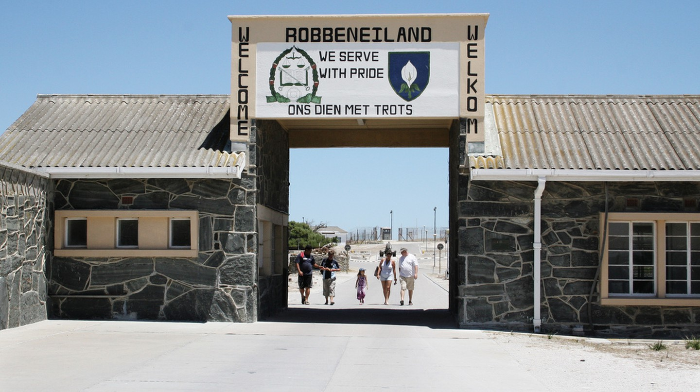 Robben Island Prison now houses a museum