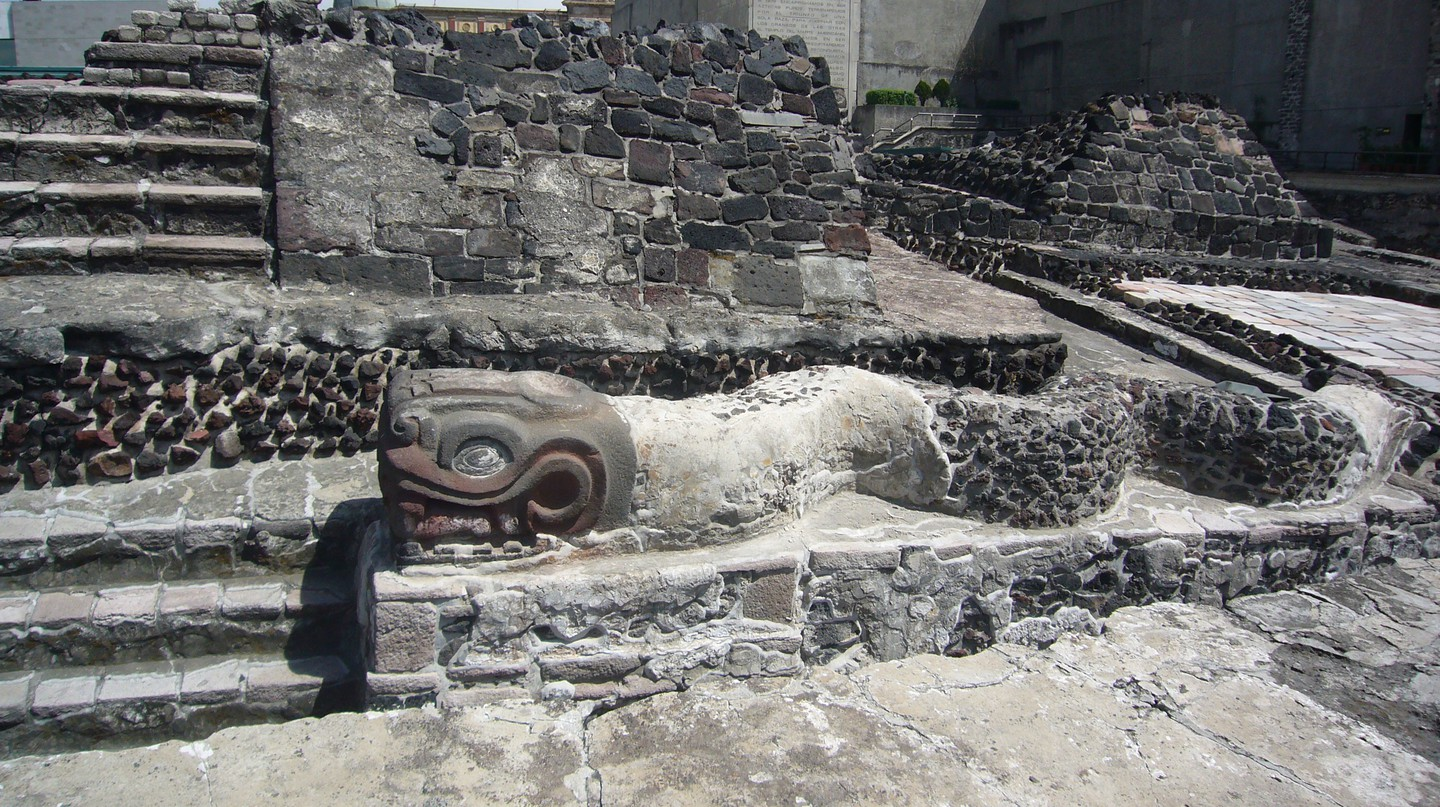 Templo Mayor | © Kent Wang/Flickr