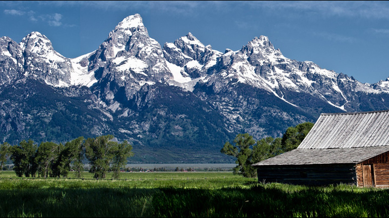 Barn, Mormon Row, Jackson Hole, Wyoming | © Allan Harris/Flickr
