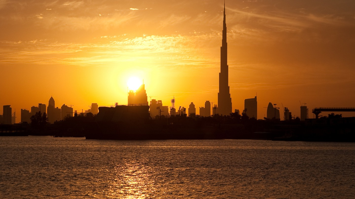 Sunset over Dubai's Skyline | © the_dead_pixel/Flickr