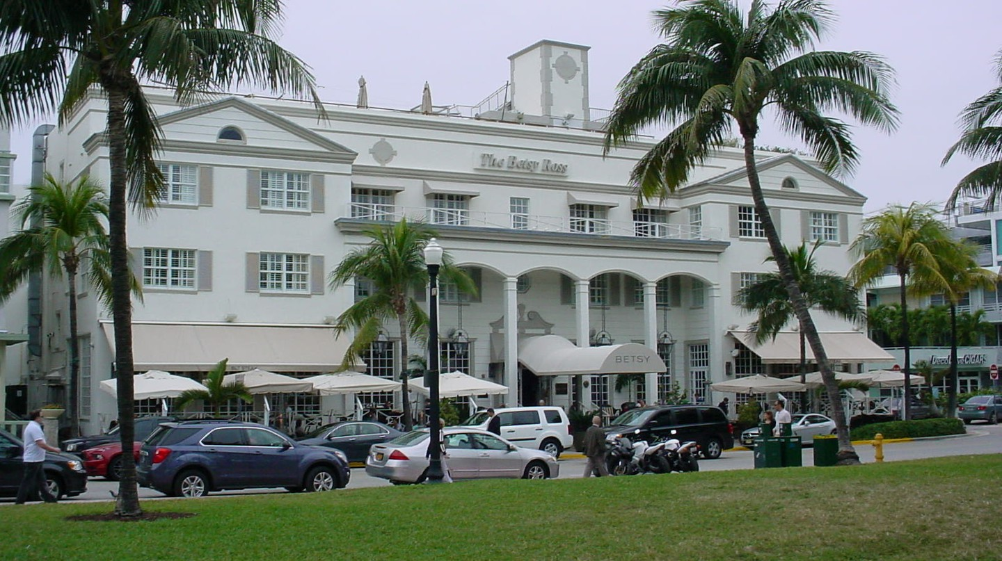 The Betsy Ross Hotel, South Beach   Courtesy of Phillip Pessar/Flickr