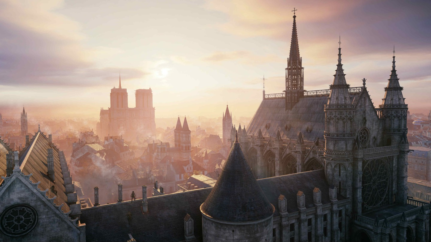 The Notre Dame cathedral in Assassin's Creed Unity | © Xbox