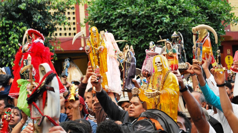 Santa Muerte | © Thelmadatter/WikiCommons