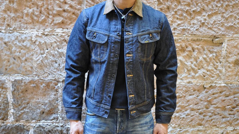 Studio D'Artisan's Storm Rider denim jacket   Courtesy of Corlection