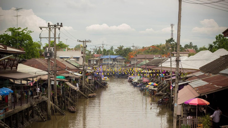 Bangkok Canals | ©  Courtesy of Pixabay