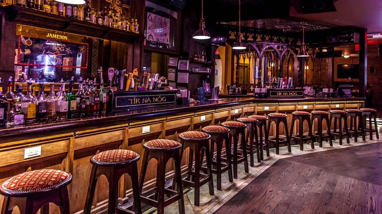 Main bar at Tír na nÓg