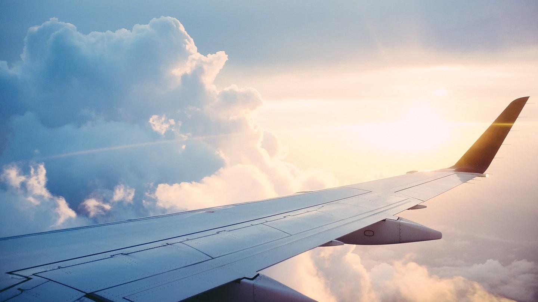Wing of a plane. via Pixabay