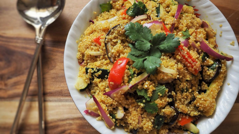 Quinoa salad,