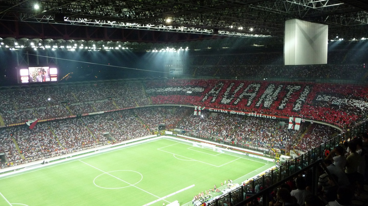 AC Milan vs Inter Milan at the San Siro Stadium | © www.flickr.com