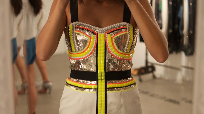 Neon Sass & Bide dress   ©Geneva Vanderzeil/Flickr