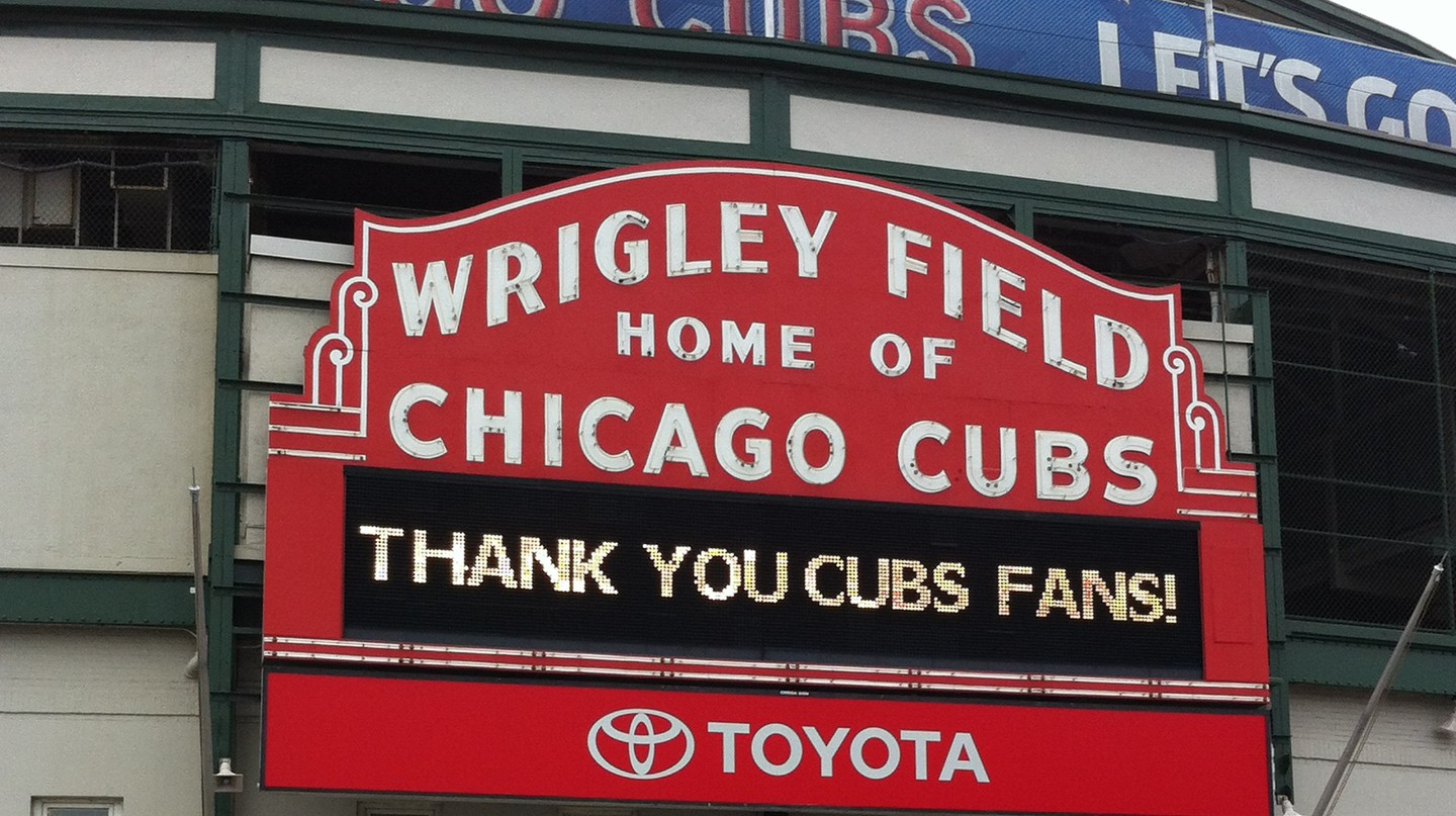 A History Of The Chicago Cubs In 1 Minute